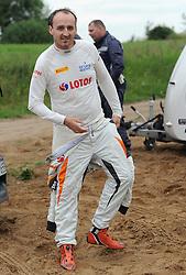 30.06.2015, Pasym, POL, FIA, WRC, Ralley Polen, Training, im Bild ROBERT KUBICA I PILOT MACIEJ SZCZEPANIAK TESTUJA FORDA FIESTE WRC NA WARMINSKICH SZUTRACH NA ZDJECIU ROBERT KUBICA // during a trainingssession of FIA, WRC Poland Ralley at Pasym, Poland on 2015/06/30. EXPA Pictures © 2015, PhotoCredit: EXPA/ Newspix/ Bogdan Hrywniak<br /> <br /> *****ATTENTION - for AUT, SLO, CRO, SRB, BIH, MAZ, TUR, SUI, SWE only*****