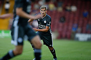 Marc Albrighton of Leicester City during the Pre-Season Friendly match between Scunthorpe United and Leicester City at Glanford Park, Scunthorpe, England on 16 July 2019.