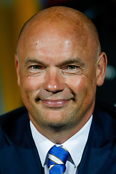 Manager Uwe Rosler of Wigan looks on from the dugout - Photo mandatory by-line: Rogan Thomson/JMP - 07966 386802 - 16/09/2014 - SPORT - FOOTBALL - Huddersfield, England - The John Smith's Stadium - Huddersfield Town v Wigan Athletic - Sky Bet Championship.