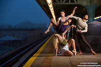 New York City Subway Dance As Art Photography with Andy Jacobs, Sylvana Tapia, Mykaila Symes and Julian Watson