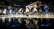 3/31/07---Atlanta, GA---(Georgia Dome)---Final Four---Florida Gators vs. UCLA Bruins--Florida's Joakim Noah stretches for a loose ball in the 2nd half against UCLA. Scott Iskowitz/Tampa Tribune