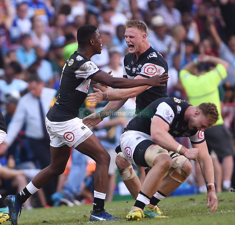 Cape Town-181027  Cell C Sharks are the 2018 Currie Cup champions after defeating  the Western Province 17-12  in the Currie Cup Final at the Newlands Stadium .Photographer:Phando Jikelo/African News Agency(ANA)