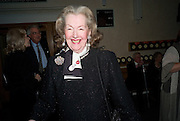 RAINE COUNTESS SPENCER, Book launch for the book by Julian Fellowes 'Past Imperfect.' Cadogan Hall. Sloane Terrace. London. 4 November 2008 *** Local Caption *** -DO NOT ARCHIVE -Copyright Photograph by Dafydd Jones. 248 Clapham Rd. London SW9 0PZ. Tel 0207 820 0771. www.dafjones.com