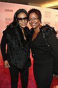 16 October 2010-New York, NY-  l to r: Beverly Bond and Harriet Cole at The Black Girls Rock! Shot Caller's Reception Presented by Beverly Bond and BET held at Fred's at Barneys New York on October 15, 2010 in New York City. ..BLACK GIRLS ROCK! Inc. is 501(c)3 non-profit youth empowerment and mentoring organization established to promote the arts for young women of color, as well as to encourage dialogue and analysis of the ways women of color are portrayed in the media. Photo Credit:.Terrence Jennings..