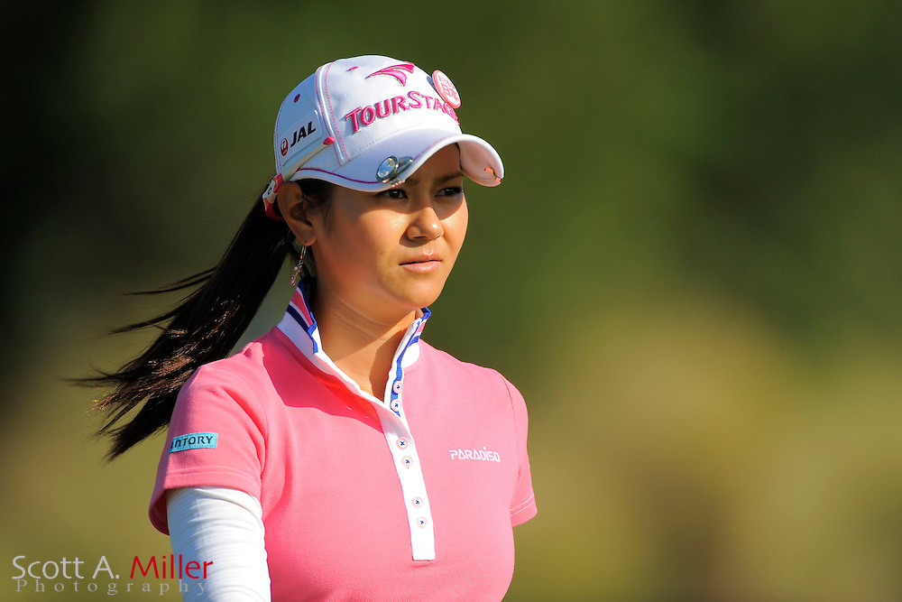 Ai Miyazato during the second round of the CME Group Titleholders at Grand Cypress Resort on Nov. 18, 2011 in Orlando, Fla.  ..©2011 Scott A. Miller