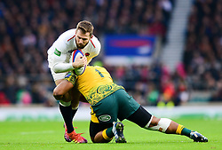 Elliot Daly of England - Mandatory by-line: Dougie Allward/JMP - 24/11/2018 - RUGBY - Twickenham Stadium - London, England - England v Australia - Quilter Internationals