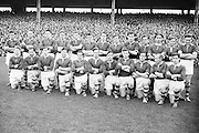All Ireland Senior Football Final Replay. Meath v Cavan..The Meath Team..Winners - Cavan 0.9 - 0.5..12.10.1952  12th October 1952S. Morris, J. McCabe, P. Brady, D. Maguire, P. Carolan, L. Maguire, B. O'Reilly, V. Sherlock, T. Hardy, S. Hetherton, M. Higgins (Captain), E. Carolan, J. J. Cassidy, A. Tighe, J. Cusack. Note: P. Fitzsimons played in drawn game. J. Cusack came on for replay. P. Fitzsimmons was introduced as Sub for J. J. Cassidy in replay.