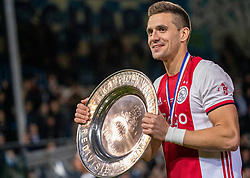 15-05-2019 NED: De Graafschap - Ajax, Doetinchem<br /> Round 34 / It wasn't really exciting anymore, but after the match against De Graafschap (1-4) it is official: Ajax is champion of the Netherlands / Dusan Tadic #10 of Ajax