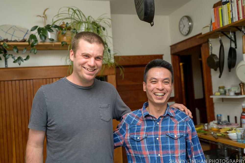 Alex and Nick of Rangoon Food Cart