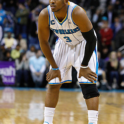 February 1, 2011; New Orleans, LA, USA; New Orleans Hornets point guard Chris Paul (3) against the Washington Wizards during the second half at the New Orleans Arena. The Hornets defeated the Wizards 97-89.  Mandatory Credit: Derick E. Hingle