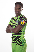 Forest Green Rovers Ebou Adams(14) during the official team photocall for Forest Green Rovers at the New Lawn, Forest Green, United Kingdom on 29 July 2019.
