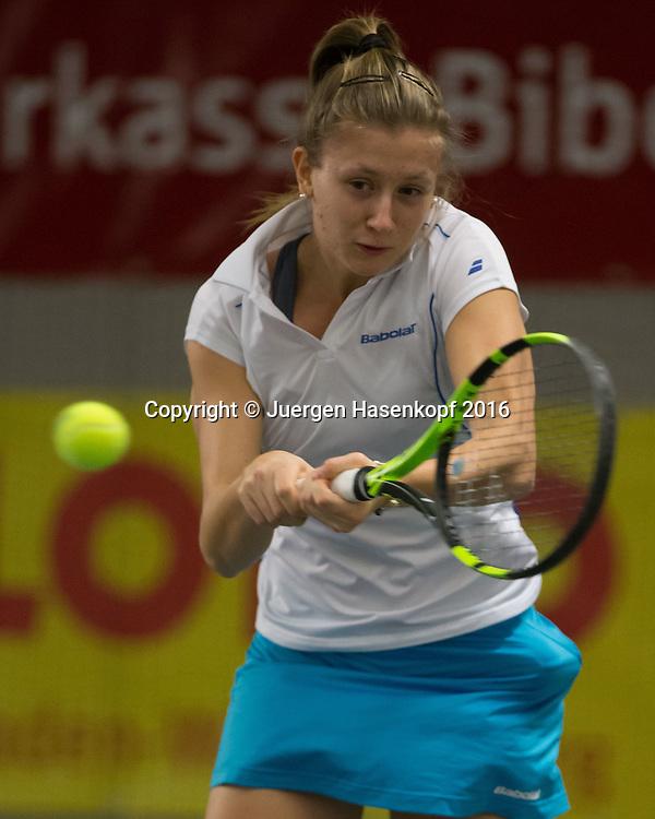 ANNA GABRIC, 45. Deutsche Meisterschaften 2016 <br /> <br /> Tennis - Deutsche Meisterschaften 2016 - Deutsche Meisterschaften -   - Biberach an der Riss - Baden-Wuerttemberg - Germany - 16 December 2016. <br /> &copy; Juergen Hasenkopf
