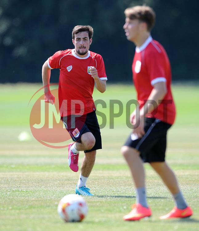 - Photo mandatory by-line: Dan Rowley/JMP - Tel: Mobile: 07966 386802 02/07/2014 - SPORT - FOOTBALL - Bristol -  Bristol City Training