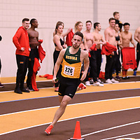 Mason Lanigan in action during the 2018 Canada West Track & Field Championship on February  23 at James Daly Fieldhouse. Credit: Arthur Ward/Arthur Images