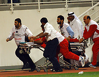 03/03/04 - ABU DHABI - UAE - Under 23 - U23 - PRE OLYMPIC GAMES - U.A.E Vs. BAHRAIN<br />
