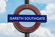 16 Jul 2018 - Southgate tube station renamed in tribute to Gareth Southgate's World Cup campaign.