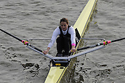 London, Great Britain, 2008 Scullers Head of the River Race,  Juliette HAIGH, racing over the Championship Course, Mortlake to Putney, on the River Thames.   Saturday, 06/12/2008. [Mandatory Credit: ? Peter Spurrier/Intersport Images]. Rowing Course: River Thames, Championship course, Putney to Mortlake 4.25 Miles,
