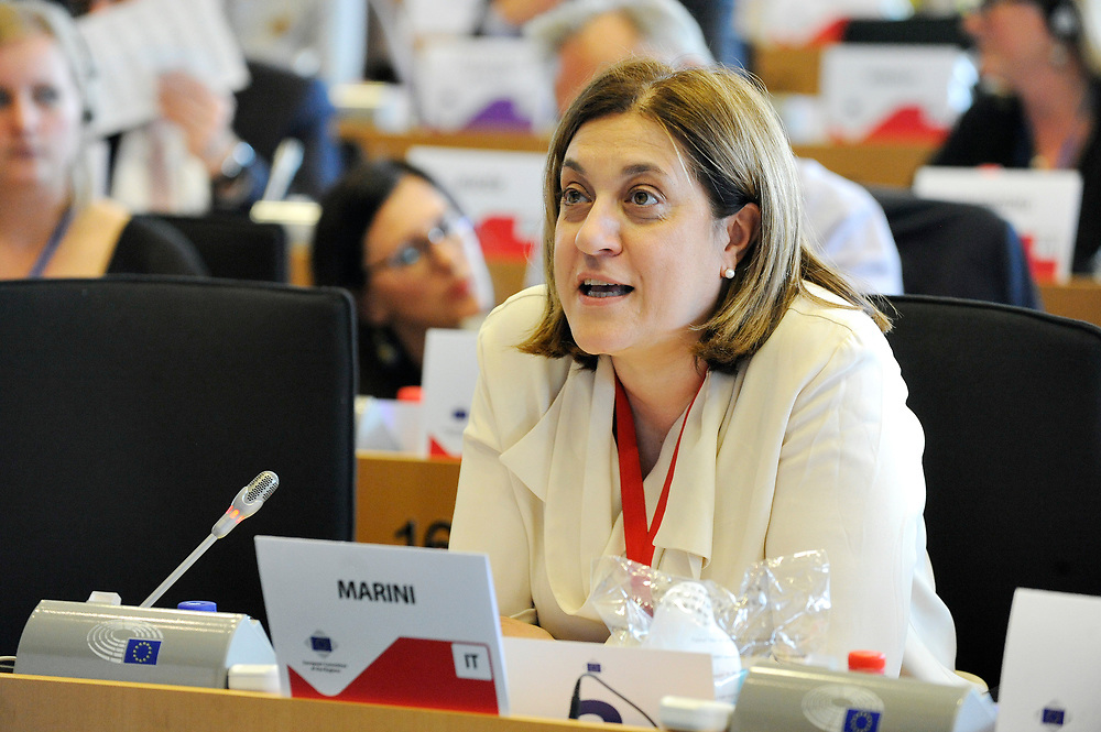 11 May 2017, 123rd Plenary Session of the European Committee of the Regions <br /> Belgium - Brussels - May 2017 <br /> MARINICatiuscia<br /> &copy; European Union / Fred Guerdin