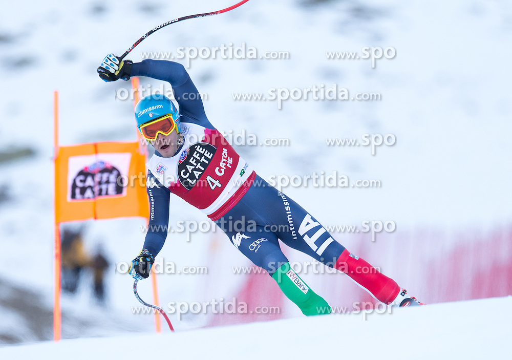 28.12.2015, Deborah Compagnoni Rennstrecke, Santa Caterina, ITA, FIS Ski Weltcup, Santa Caterina, Abfahrt, Herren, 2. Training, im Bild Christof Innerhofer (ITA) // Christof Innerhofer of Italy in action during the 2nd practice run of men's Downhill of the Santa Caterina FIS Ski Alpine World Cup at the Deborah Compagnoni Course in Santa Caterina, Italy on 2015/12/28. EXPA Pictures © 2015, PhotoCredit: EXPA/ Johann Groder