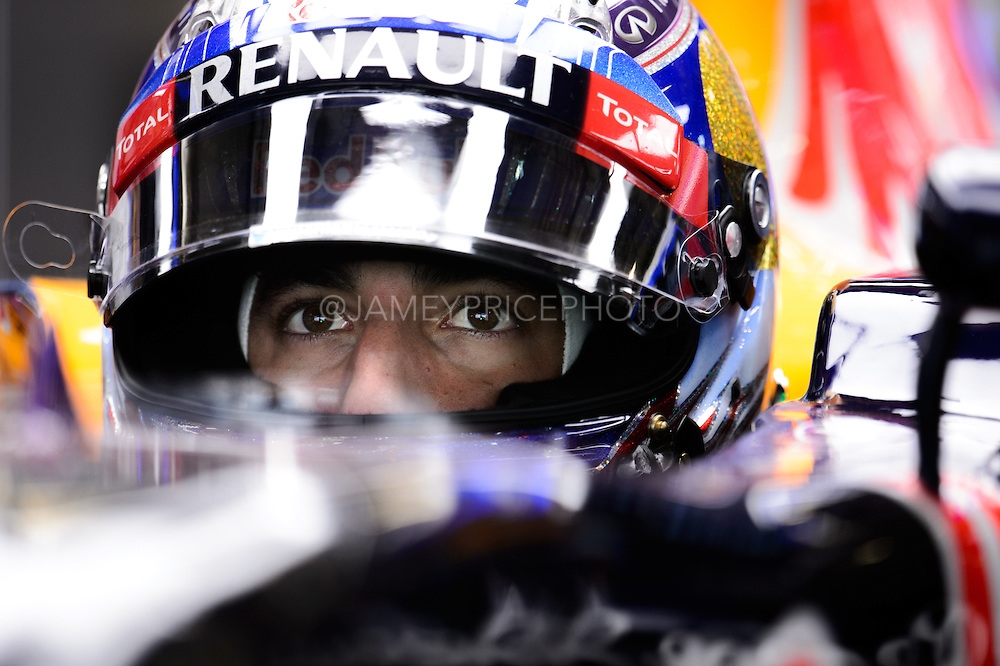 October 8, 2015: Russian GP 2015: Daniel Ricciardo (AUS), Red Bull-Renault