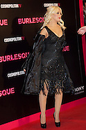 120910 burlesque madrid premiere