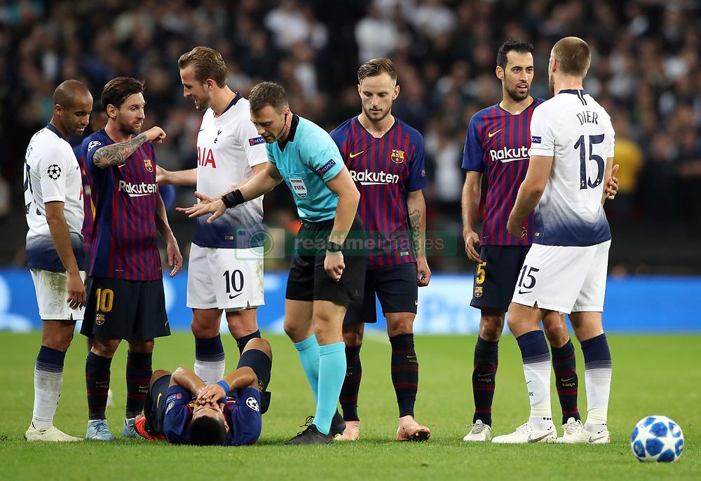 صور مباراة : توتنهام - برشلونة 2-4 ( 03-10-2018 )  38929237