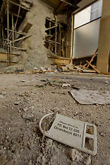 Christchurch-Interior images of the damaged Grand Chancellor Hotel