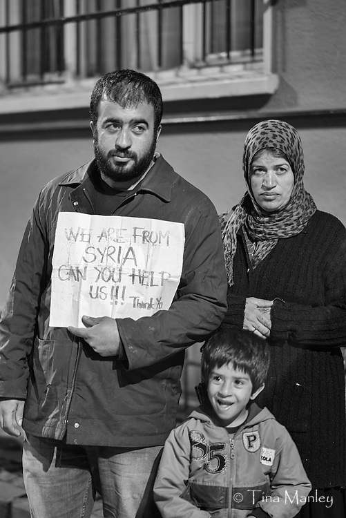 A refugee family from Aleppo, Syria, now in Istabul, Turkey, asking for help.