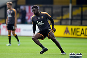 Cambridge United striker Jabo Ibehre (14) during the EFL Sky Bet League 2 match between Cambridge United and Coventry City at the Cambs Glass Stadium, Cambridge, England on 16 September 2017. Photo by Dennis Goodwin.