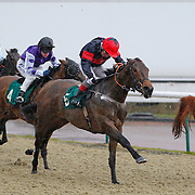 Batchworth Lady and Jimmy Quinn winning the 2.15 race