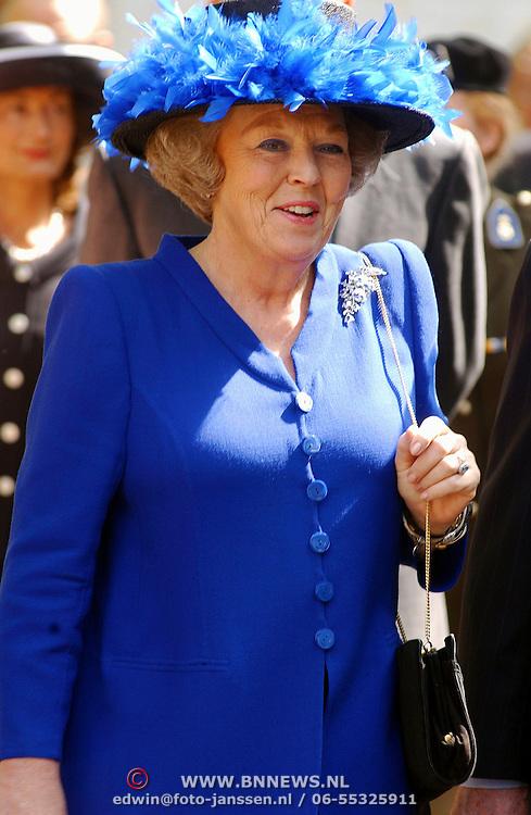 Uitreiking Four Freedom Awards, Koninging Beatrix