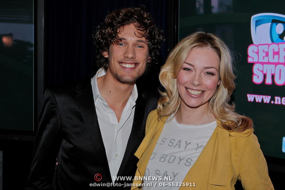 NLD/Amsterdam/20110118 - Perspresentatie nieuw SBS realityprogramma Secret Story, Renate Verbaan