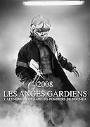 Les anges gardiens 2008 - NoumÈa firefighter calendar