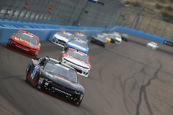 March 10, 2018 - Avondale, Arizona, United States of America - March 10, 2018 - Avondale, Arizona, USA: JJ Yeley (38) brings his race car down the front stretch during the DC Solar 200 at ISM Raceway in Avondale, Arizona. (Credit Image: © Chris Owens Asp Inc/ASP via ZUMA Wire)
