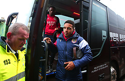 Korey Smith of Bristol City arrives at Vicarage Road for the FA Cup third round tie against Watford - Mandatory by-line: Robbie Stephenson/JMP - 06/01/2018 - FOOTBALL - Vicarage Road - Watford, England - Watford v Bristol City - Emirates FA Cup third round proper