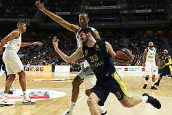 March 2, 2018 - Madrid, Madrid, Spain - Nikola Kalinic, #33 of Fenerbahce in action during the 2017/2018 Turkish Airlines EuroLeague Regular Season Round 24 game between Real Madrid and Fenerbahce Dogus Istanbul at WiZink center in Madrid. (Credit Image: © Jorge Sanz/Pacific Press via ZUMA Wire)