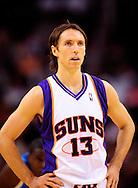 Mar. 14 2010; Phoenix, AZ, USA; Phoenix Suns guard Steve Nash (13) in the first half at the US Airways Center. Mandatory Credit: Jennifer Stewart-US PRESSWIRE.