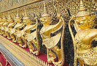 Temple of Emerald Buddha Wat Phra Kaew Bangkok Thailand&#xA;<br />