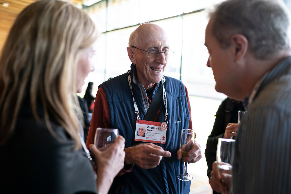 Speaker Welcome Cocktails at TED2019: Bigger Than Us. April 15 - 19, 2019, Vancouver, BC, Canada. Photo: Bret Hartman / TED