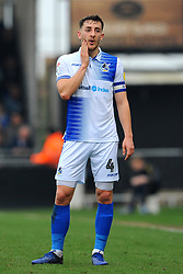 Tom Lockyer of Bristol Rovers shows a look of dejection- Mandatory by-line: Nizaam Jones/JMP - 23/02/2019 - FOOTBALL - Memorial Stadium - Bristol, England - Bristol Rovers v Sunderland - Sky Bet League One