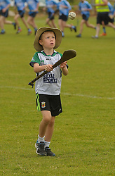 Phelim Guifoyle enjoying a puck about at the Feile in Westport,<br />Pic Conor McKeown