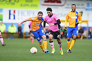 Northampton Town midfielder Danny Rose during the Sky Bet League 2 match between Mansfield Town and Northampton Town at the One Call Stadium, Mansfield, England on 28 March 2016. Photo by Jon Hobley.