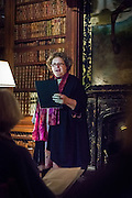 Scotts treasures ~ New Poetry Showcase evening, held at Sir Walter Scotts former home, Abbotsford House. Poets interested in Sir Walter Scott's magnificent collection of quirky treasures were invited to take part in three writing workshops at Abbotsford to inspire new poems around the collections. The workshops were run by Borders poets Julian Colton, Anita John and Dorothy Alexander in June 2014, with further support  given to poets over the summer. <br /> A selection of the poetry, generated through the workshops, was read on the evening. The event was jointly run by the Creative Borders Arts Network (CABN) and the Abbotford Trust.