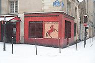 France. Paris. 4th district. le Marais. rue vieille du temple