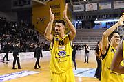 DESCRIZIONE : Ancona Lega A 2012-13 Sutor Montegranaro Angelico Biella<br /> GIOCATORE : Valerio Mazzola<br /> CATEGORIA : esultanza<br /> SQUADRA : Sutor Montegranaro<br /> EVENTO : Campionato Lega A 2012-2013 <br /> GARA : Sutor Montegranaro Angelico Biella<br /> DATA : 02/12/2012<br /> SPORT : Pallacanestro <br /> AUTORE : Agenzia Ciamillo-Castoria/C.De Massis<br /> Galleria : Lega Basket A 2012-2013  <br /> Fotonotizia : Ancona Lega A 2012-13 Sutor Montegranaro Angelico Biella<br /> Predefinita :