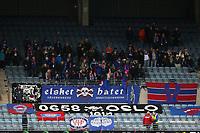 Fotball , 06. november 2016 , Eliteserien , Tippeligaen , Viking - Vålerenga<br />Supporterne fra Vålerenga.<br />Foto: Andrew Halseid Budd , Digitalsport