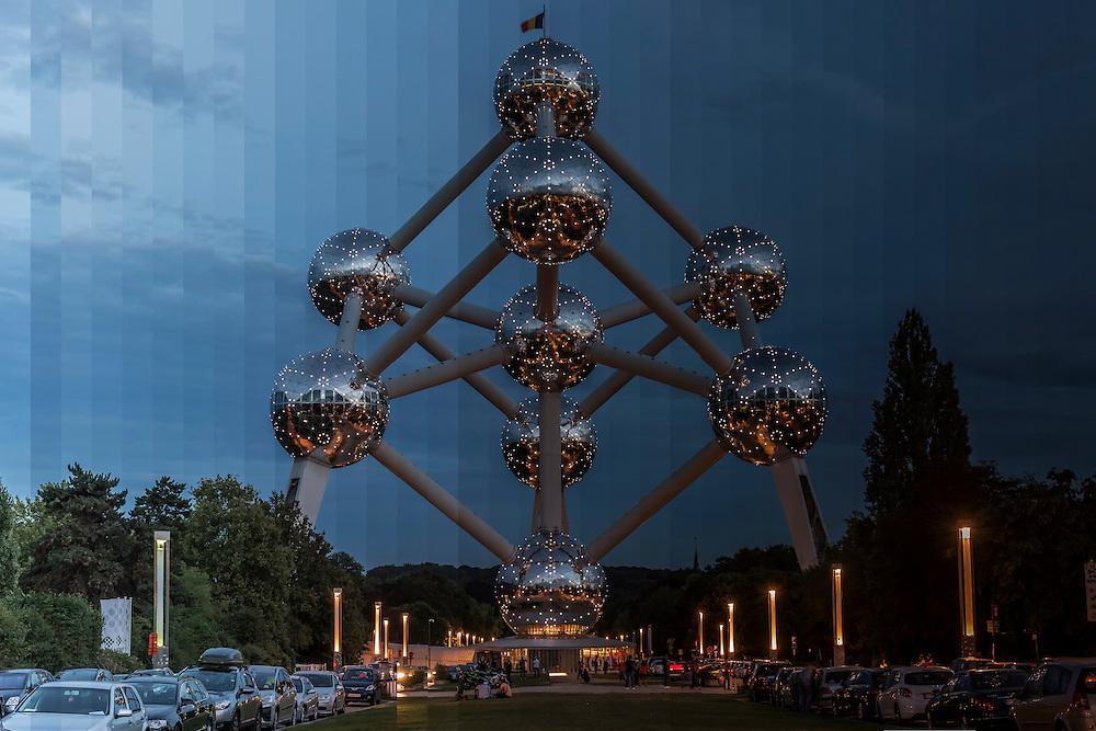 Time Slice Atomium Brussels