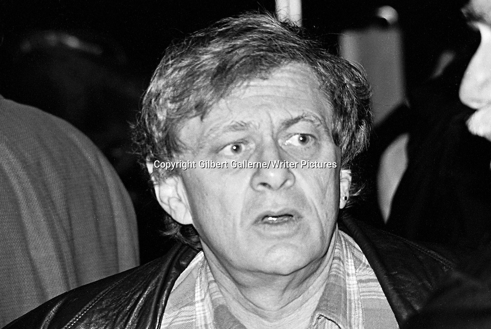 Norman Spinrad, World Fantasy Convention, London, UK, 1994<br /> <br /> copyright Gilbert Gallerne/Writer Pictures<br /> contact +44 (0)20 822 41564<br /> info@writerpictures.com<br /> www.writerpictures.com
