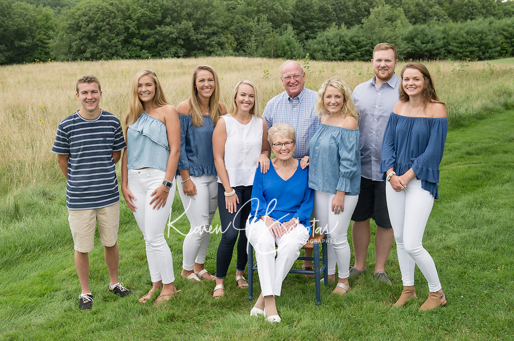 Harris Family portrait session.  ©Karen Bobotas Photographer
