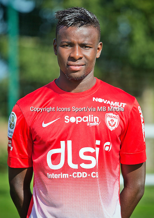 Ibrahim AMADOU - 03.10.2013 - Photo Officielle - Nancy -<br /> Photo : Icon Sport